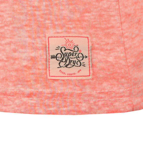 Superdry Womens Pink MFG Entry Tee main image