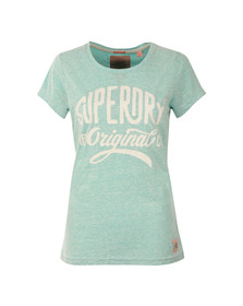 Superdry Womens Green MFG Entry Tee
