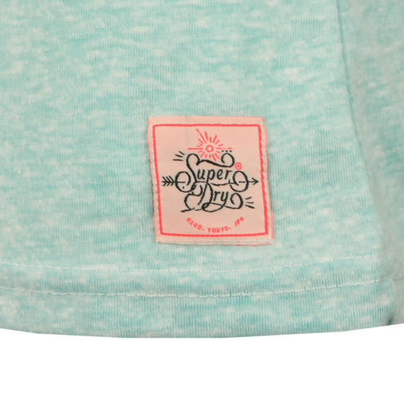 Superdry Womens Green MFG Entry Tee main image
