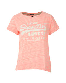 Superdry Womens Pink Premium Goods BF Tee