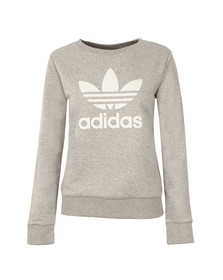 Adidas Originals Womens Grey Crew Sweater