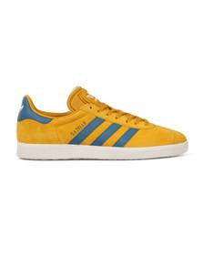 Adidas Originals Mens Yellow Gazelle Trainer