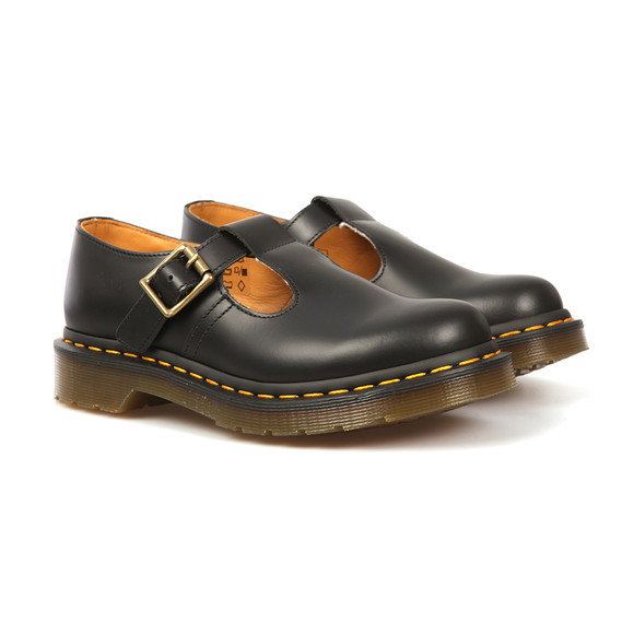 Dr. Martens Womens Black Polley Shoe main image