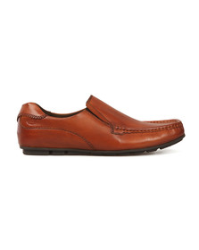 Base London Mens Brown Cuba Shoe