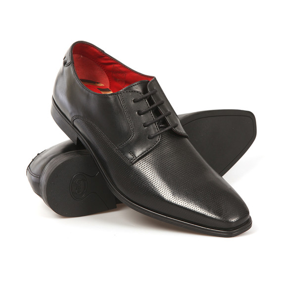 Base London Mens Black Charles Shoe main image