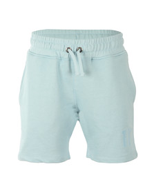 Eleven Degrees Mens Blue Core Logo Sweatshort