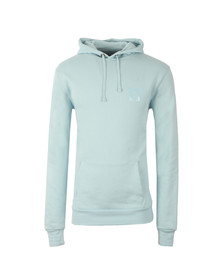 Eleven Degrees Mens Blue Core Pull Over Hoody