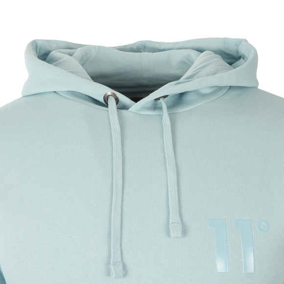 Eleven Degrees Mens Blue Core Pull Over Hoody main image
