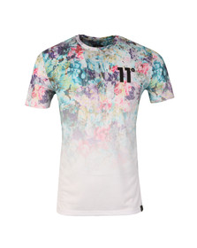 Eleven Degrees Mens Multicoloured Chintzy Floral Sub Tee