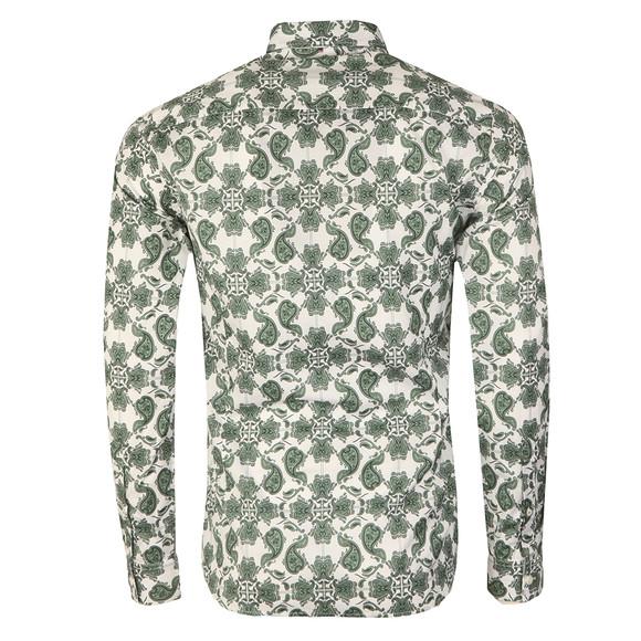 Pretty Green Mens Green Palatine Pattern Shirt main image