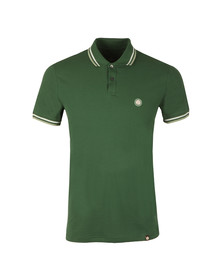 Pretty Green Mens Green New Twin Tipped Polo