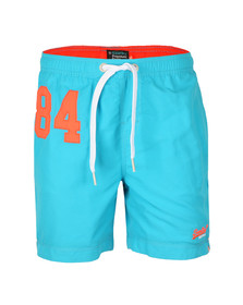 Superdry Mens Blue Premium Water Polo Short