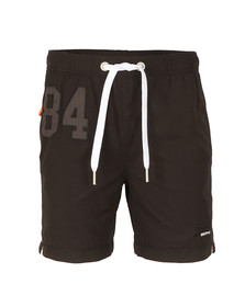 Superdry Mens Black Premium Water Polo Short