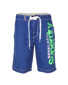 Superdry Mens Blue Boardshort