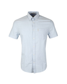 Ben Sherman Mens Blue S/S Classic Oxford Shirt