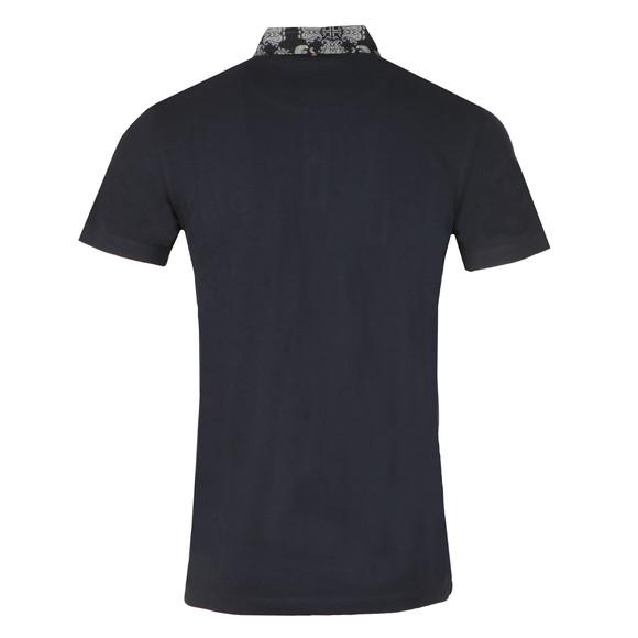 Pretty Green Mens Blue Palatine Collar Polo Shirt main image