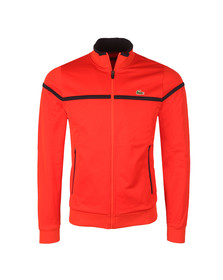 Lacoste Sport Mens Red Full Zip Track Top