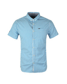 Superdry Mens Blue Ultra Lite Oxford SS Shirt