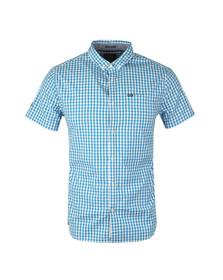 Superdry Mens Blue Ultra Lite Oxford Check Shirt