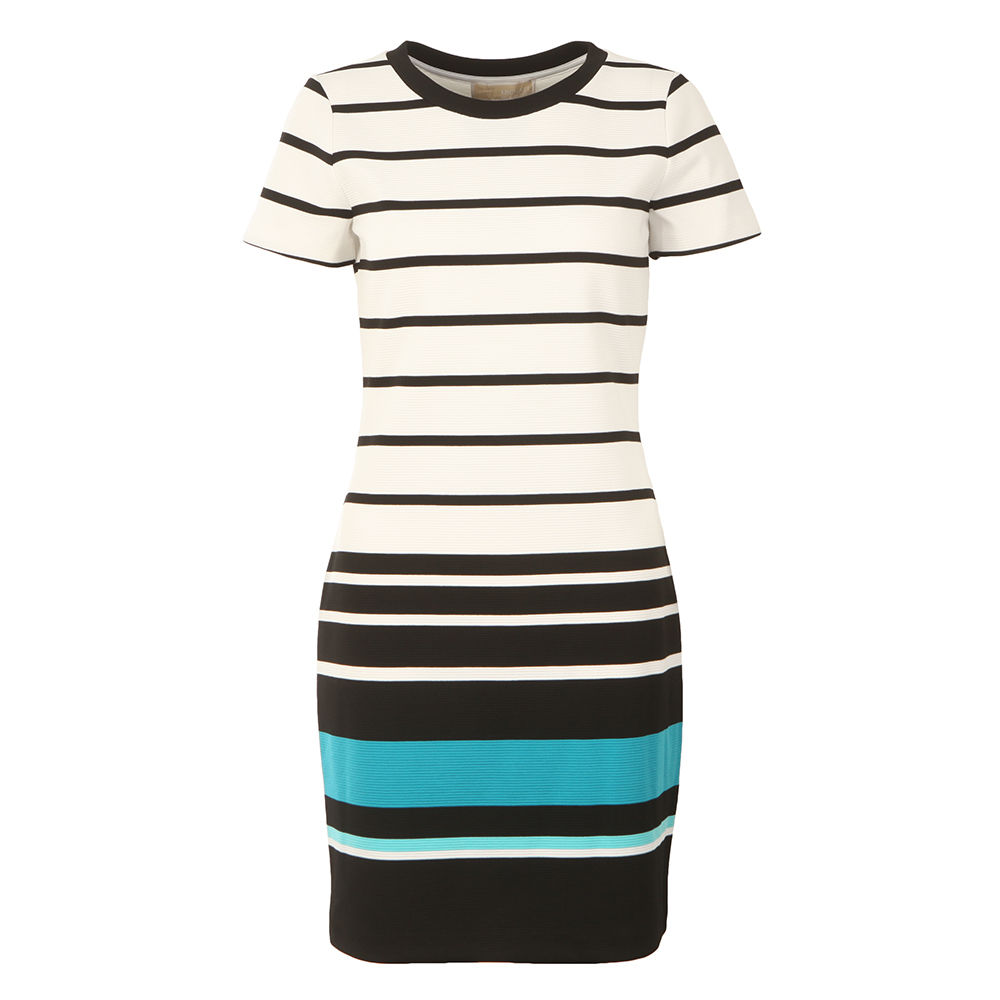 Stripe Ottoman T Shirt Dress main image