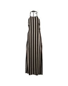 Superdry Womens Black Deck Stripe Maxi Dress