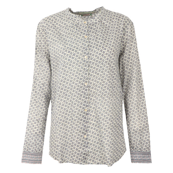 Maison Scotch Womens White Summer Prints Shirt main image