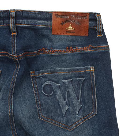 Vivienne Westwood Anglomania Womens Blue AR Skinny Jean main image