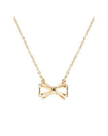 Ted Baker Womens Gold Signy Sweetie Bow Pendant