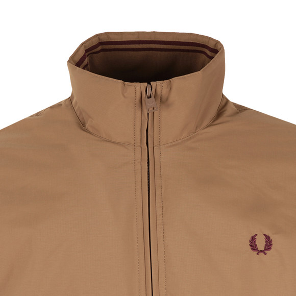 Fred Perry Mens Brown Brentham Jacket main image
