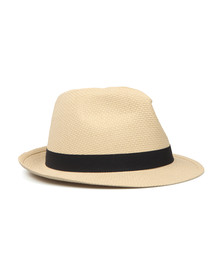 Barbour Lifestyle Mens Grey Emblem Trilby