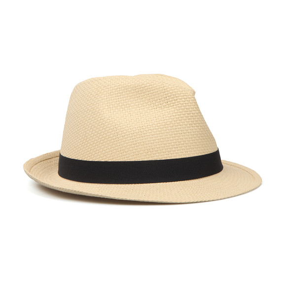 Barbour Lifestyle Mens Off-White Emblem Trilby