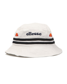Ellesse Mens White Lorenzo II Bucket Hat