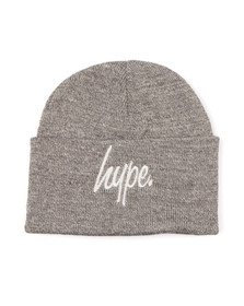Hype Mens Grey Basic Beanie