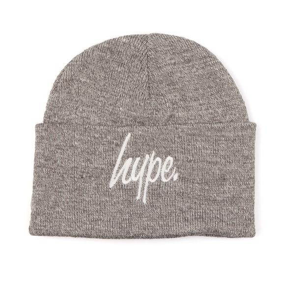 Hype Mens Grey Basic Beanie main image