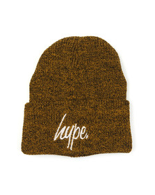 Hype Mens Yellow Basic Beanie