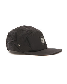 Stone Island Mens Black 5 Panel Cap