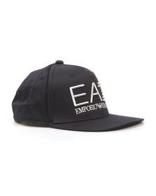 EA7 Emporio Armani Mens Blue Embroidered Logo Cap