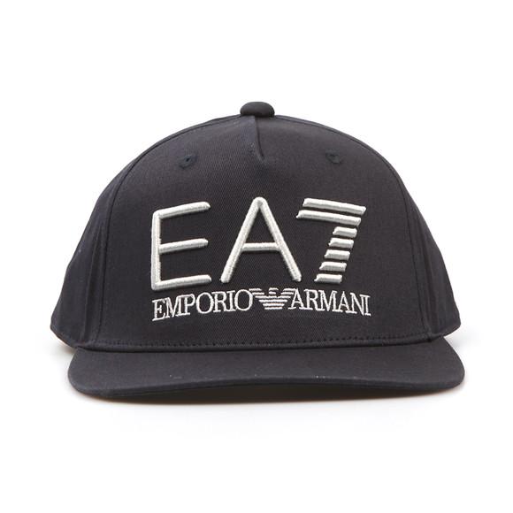 EA7 Emporio Armani Mens Blue Embroidered Logo Cap main image