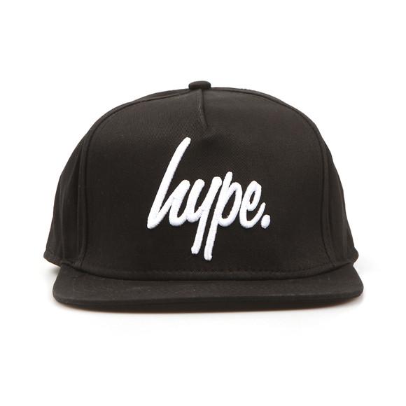 Hype Mens Black Script Snapback main image