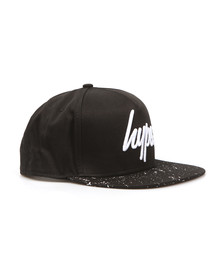 Hype Mens Black Speckle Snapback