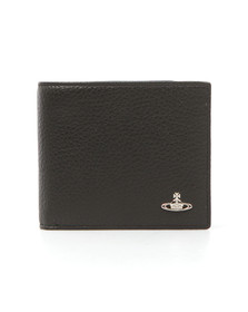 Vivienne Westwood Mens Black Milano Card Wallet