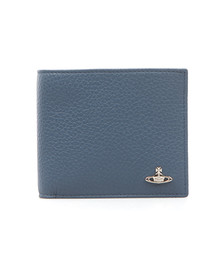 Vivienne Westwood Mens Blue Milano Card Wallet