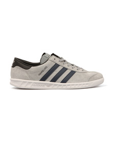 Adidas Originals Mens Grey Hamburg Trainer