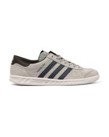 Adidas Originals Mens Grey Hamburg Trainer