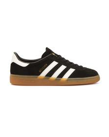 Adidas Originals Mens Black Munchen Trainer