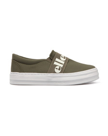 Ellesse Womens Green Panforte Slip On Shoe
