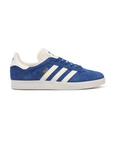 Adidas Originals Mens Blue Gazelle Trainer