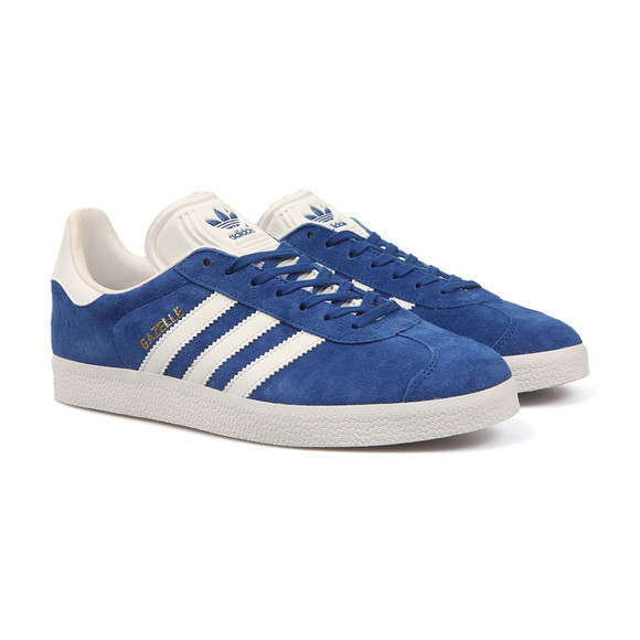 Adidas Originals Mens Blue Gazelle Trainer main image