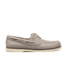 Timberland Mens Grey A1FI6 Boat Shoe