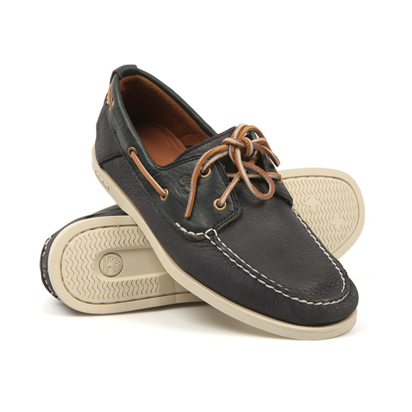 Timberland Mens Blue Heritage Boat Shoe main image